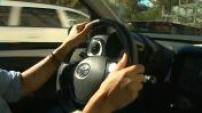 Illustration person driving