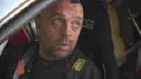 Participation Philippe Croizon Dakar Rally (08/14): auto racing; interviews Philippe Croizon, Cedric Duplé and Yves Tartarin