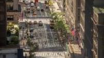 Timelapse d'une rue typique de New York