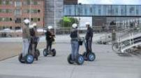 Bicycle flowing in Copenhagen