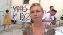 "Summer University ""France Infidel"" in Marseille interview Clémentine Autain"