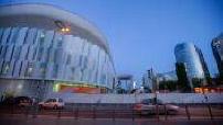 Time lapse extérieur U Arena