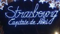 Illustration du marché de Noël de Strasbourg