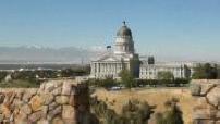 La route des bisons : Cartes postales de Bonnevile, Utah