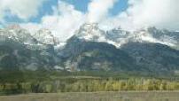La route des bisons : Grand Teton National Park, Wyoming