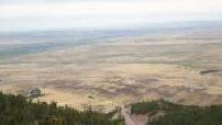 La route des bisons : Wyoming, ville de Dayton
