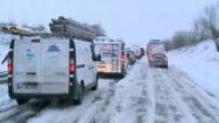 Ana storm creates heavy snow in the north