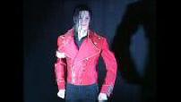Michael Jackson among the waxworks