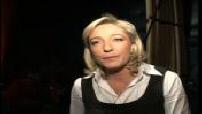 Présidentielle 2007 : Ill Jean Marie Le Pen à Lille pour la 1ère réunion de la Convention Présidentielle consacrée aux jeunes du FN