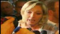 Législatives 2007 : Marine Le Pen en tête