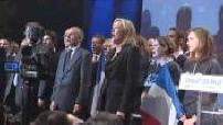 Marine Le Pen présente son projet présidentiel pour 2012
