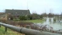 Tempete Eleanor call for vigilance against floods