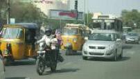 Illustration Inde : Hyderabad : scènes de rue