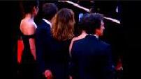"""Festival de Cannes 2002 : montée des marches """"L'adversaire"""""""