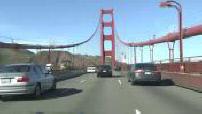 Illustrations San Francisco : borne de recharge / circulation routière / golden gate bridge 3/3