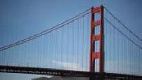 Illustrations San Francisco : scènes de rue / Golden gate bridge 1/3