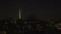 Paris Illuminations Night