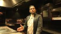 "Akrame Benallal opens his new restaurant ""Akrame"" Rue Tronchet in Paris (1/4)"