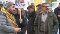 Manifestation of the Kurdish community in Marseille