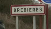 Panneau agglomération de Brebière et carotte bureau de tabac