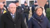 Brawl in Calais: Press conference of Gerard Collomb and Natacha Bouchart