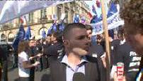 fête de Jeanne d'Arc du Front National à l'occasion du 1er mai