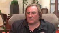 "ITW Gerard Depardieu in the movie ""Mammuth""."