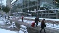 Delay Gare Montparnasse because of snow