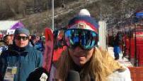 Jeux Olympiques de Pyeongchang la snowboardeuse Ester Ledecka devient championne olympique... en ski !