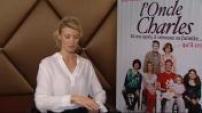 "cinéma film ""L'Oncle Charles"" : Interview (junket) Alexandra Lamy"