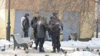 Russian police in St. Petersburg
