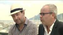 """Itw Kad Merad et Olivier Baroux à l'occasion de la présentation de """"L'italien"""" en marge du festival de Cannes et présentation du film aux exploitants"""