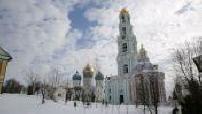 Monastère de la laure de la Trinité-Saint-Serge à Moscou