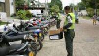 Illsutrations de la Policia Ambiental / Façade Corpoamazonia