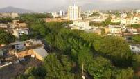 Vue aerienne de la ville de Cucuta / Vue du pont Simon-Bolivar