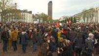 Demonstration in support of Nantes zadistes Notre Dame des Landes