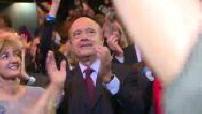 Primaires Les Républicains : Meetinfg d'Alain Juppé au Zénith de Paris (images M6)