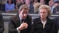 Nicolas Sarkozy visiting Guerande