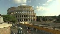 Carte postale Rome et ses monuments.