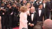 """64e Festival de Cannes : Montée des marches de l'équipe du film """"Minuit à Paris"""" pour l'ouverture du festival"""