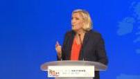 Gathering representatives of European extreme right: Marine Le Pen Speech