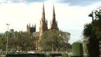 Illustrations de la Cathédrale Sainte Marie à Sydney / Gratte-ciels / Crêpes