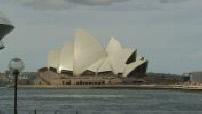 Illustrations de l'Opéra de Sydney / Baie de Sydney / Gratte-ciels de Sydney