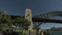 Illustrations de l'opéra de Sydney / Caméra embarquée dans la ville / Harbour Bridge