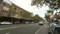 Scènes de rues dans Sydney de jour et de nuit / Illustrations de plage australienne