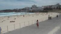 Illustrations de Bondi Beach par temps couvert
