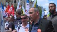 Event officials in Paris