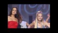 "HIT MACHINE : Models performs ""Fame"""