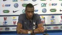 Football / friendly match France-Ireland: Press Conference Blaise Matuidi