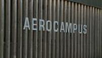 """Site Illustrations """"Aerocampus Aquitaine"""" with pupils and apprentices"""